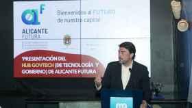 Intervención del alcalde Luis Barcala en el encuentro.