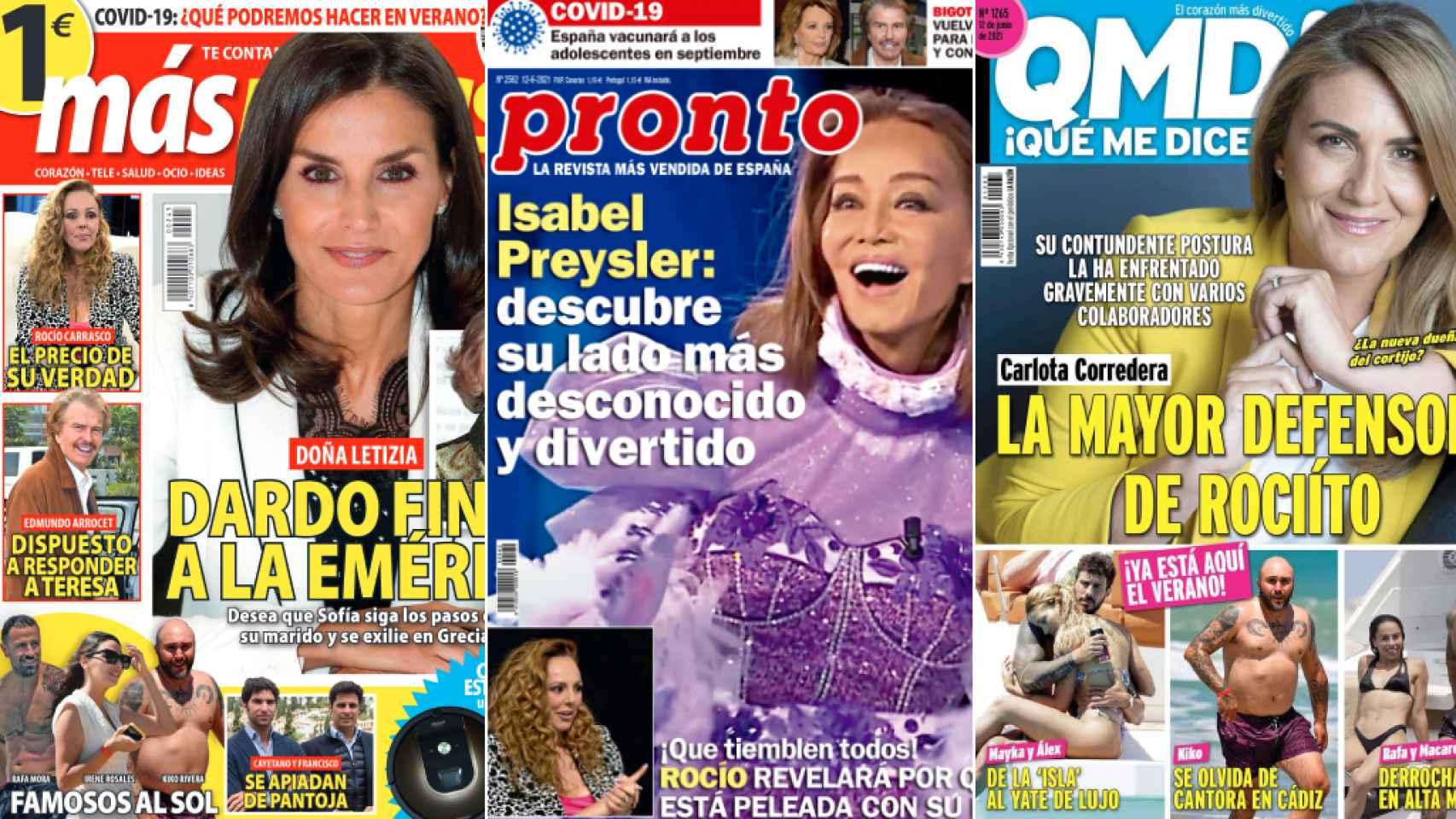 Revistas del lunes 7 de junio de 2021.