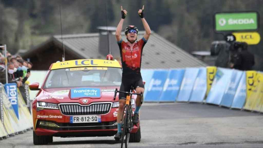 Mark Padun gana la etapa reina del Dauphiné