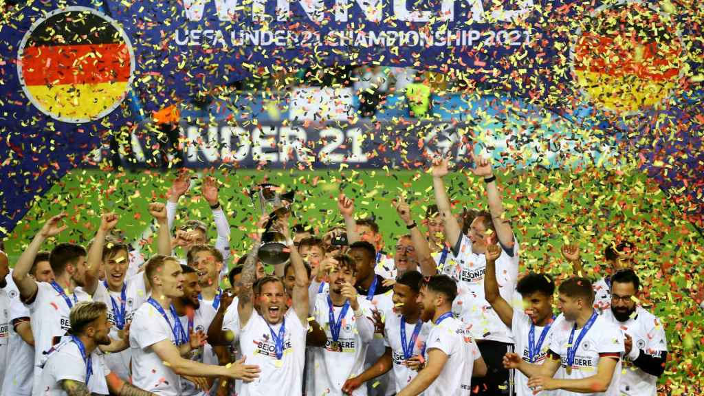 La selección de Alemania sub21, campeona del Europeo sub21 de 2021