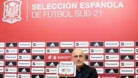 Rueda de prensa de Luis de la Fuente previa al partido amistoso frente a Lituania