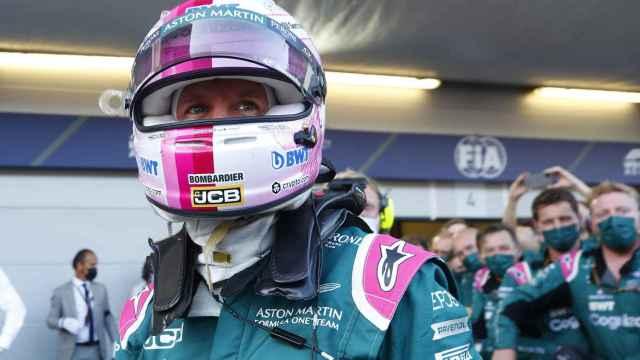 Sebastian Vettel tras el Gran Premio de Azerbaiyán