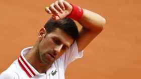 Novak Djokovic en Roland Garros