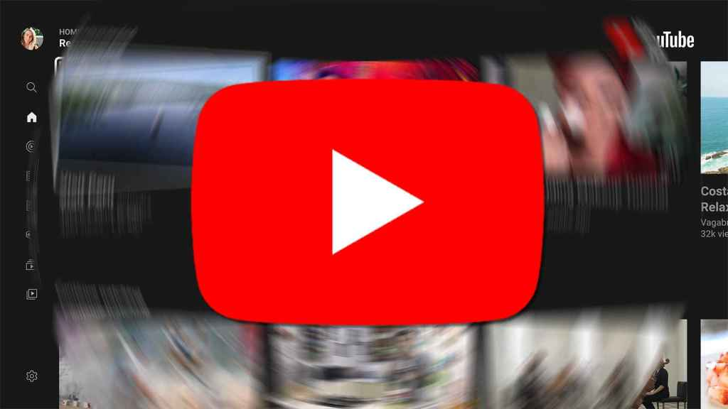 YouTube en Android TV