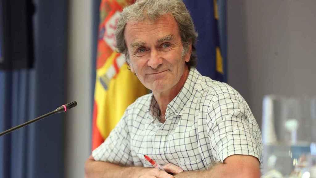 Fernando Simón, en rueda de prensa