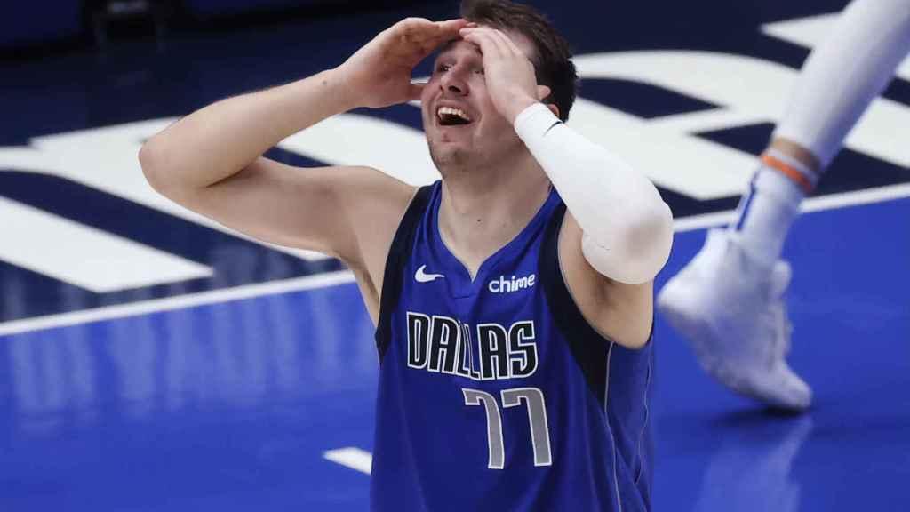 Luka Doncic, durante los playoffs de la NBA 2021