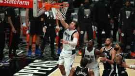 Luka Doncic, en el séptimo partido ante Los Ángeles Clippers