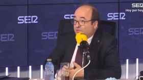 El ministro de Política Territorial y Función Pública, Miquel Iceta, este lunes en la SER.