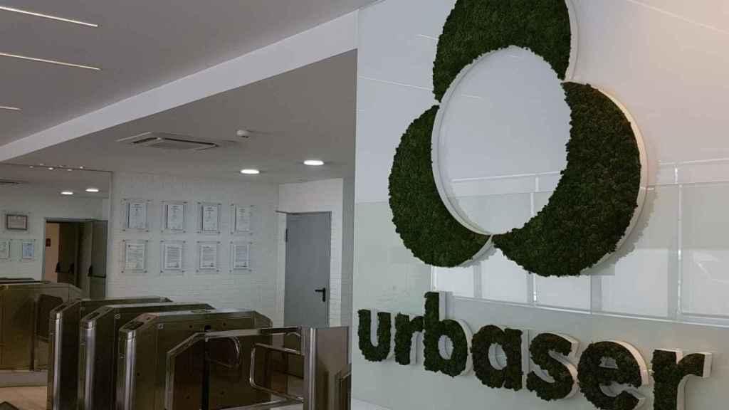 Interior de las oficinas de Urbaser.