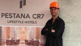 El jugador Cristiano Ronaldo, en uno de sus hoteles Pestana CR7.