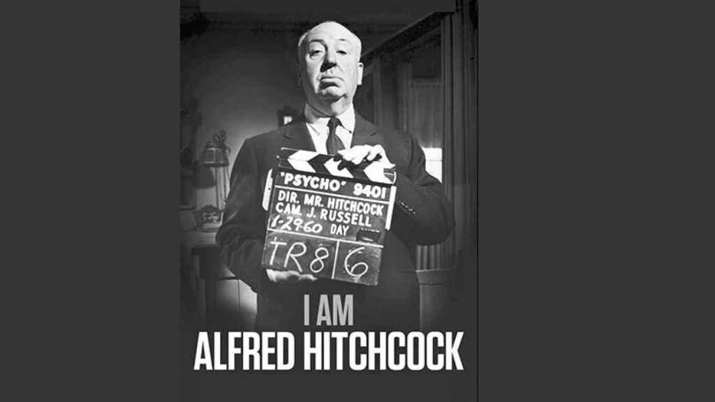 Cartel de 'Yo soy Alfred Hitchcock'.