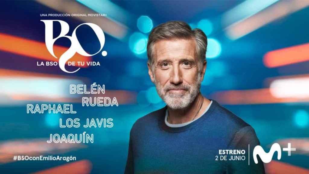 'B.S.O.', el programa de Emilio Aragón en Movistar+.