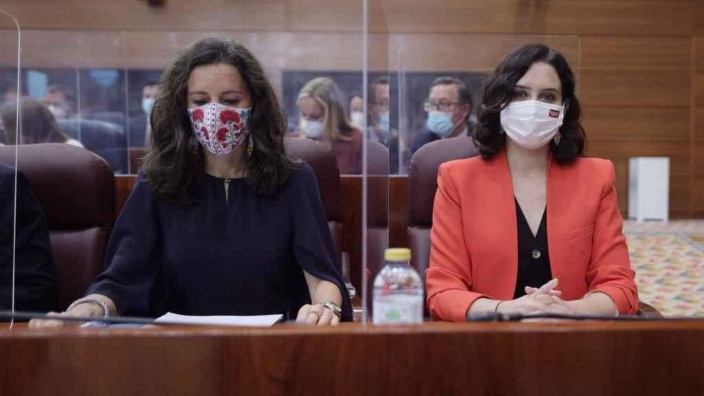 La nueva  presidenta de la Asamblea de Madrid, María Eugenia Carballedo. EP