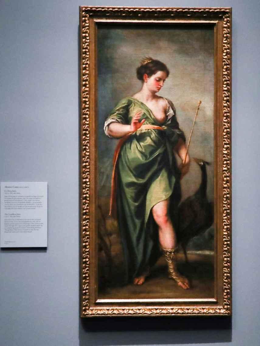 'La diosa Juno' ya cuelga en las paredes del Museo del Prado.