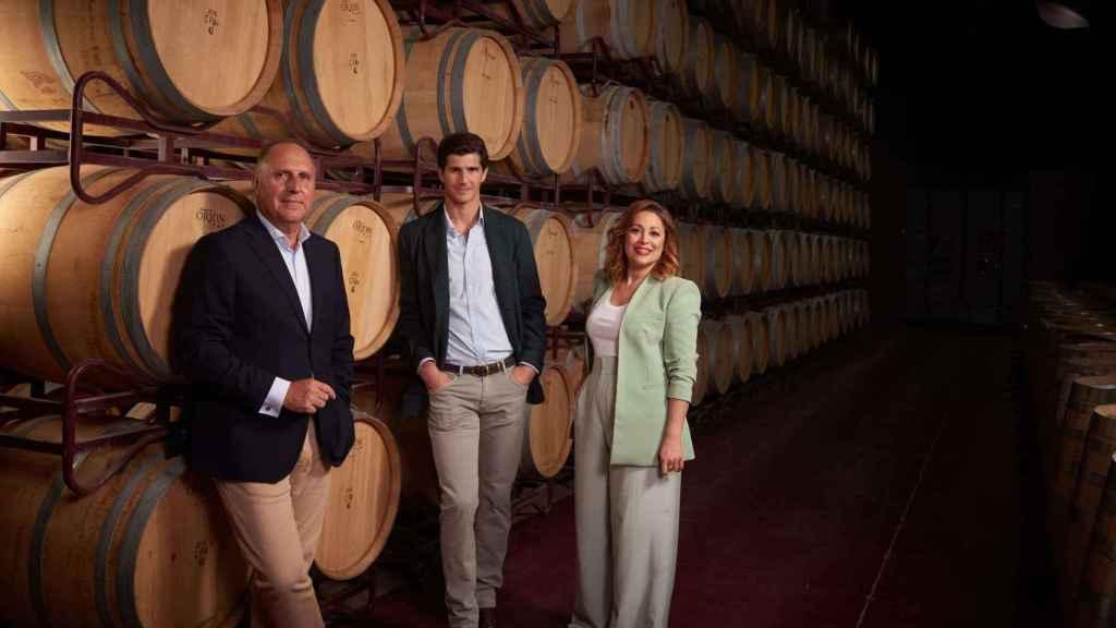 Antonio Soto, Gonzalo Entrecanales y Almudena Alberca.