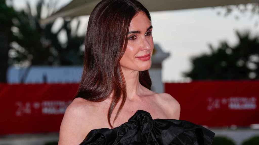 Paz Vega presume de una piel impecable durante la presentación de su película en el Festival de Málaga