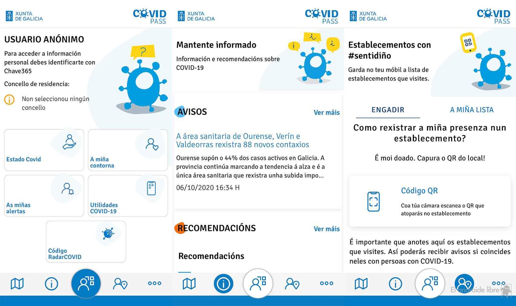 La app de la Xunta Galicia