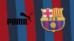 La camiseta del Barça filtrada para la 2022/2023 y el logo de Puma en un fotomontaje