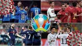 La vacunación en la Eurocopa