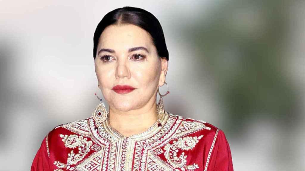 Lalla Hasna, hermana de Mohamed VI, en una imagen de archivo.