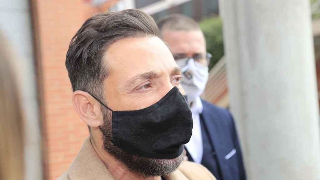 Antonio David Flores, captado en las calles de Madrid el pasado mes de abril.