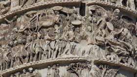 El milagro de la lluvia, en la columna de Marco Aurelio.