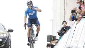 Miguel Ángel López celebra el triunfo en la Mont Ventoux Denivele Challenge