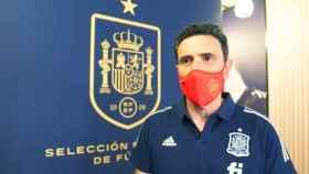 José Molina, director deportivo de la Real Federación Española de Fútbol
