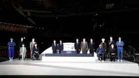 Así será el podio de los Juegos Olímpicos