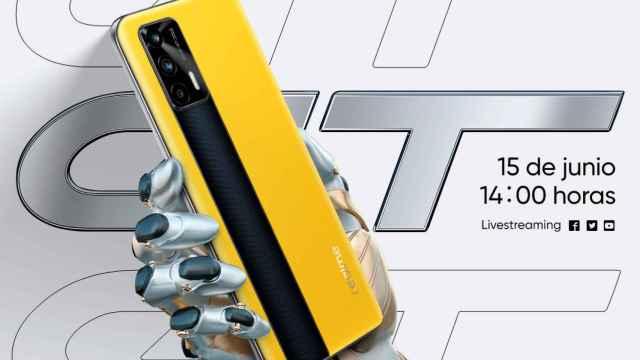 El llamativo realme GT ya tiene fecha de lanzamiento en España