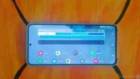 Cómo ver la pantalla de inicio de tu móvil Samsung en modo horizontal