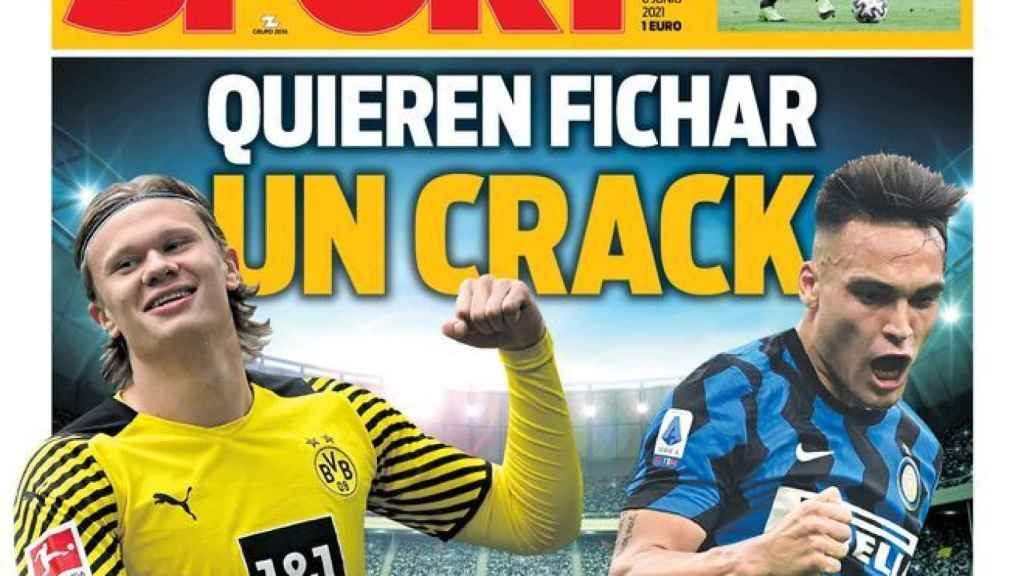 Portada Sport (08/06/21)