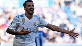 Dani Ceballos, en un partido del Real Madrid