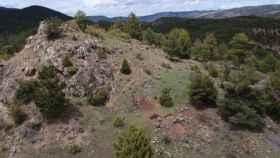 Campaña arqueológica en el Castro Celtibérico del Cerrito del Moro en Huerta del Marquesado (Cuenca)