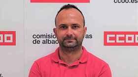Paco Honrubia, secretario de Seguridad y Salud Laboral de CCOO en Albacete