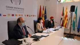 Reunión del Consejo Interterritorial de Salud, presidido por Carolina Darias, en una imagen de archivo.