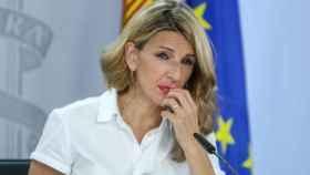 Yolanda Díaz, vicepresidenta de Trabajo y Economía Social.