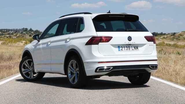 Así es el Volkswagen Tiguan e-Hybrid, la versión híbrida enchufable de este SUV medio.