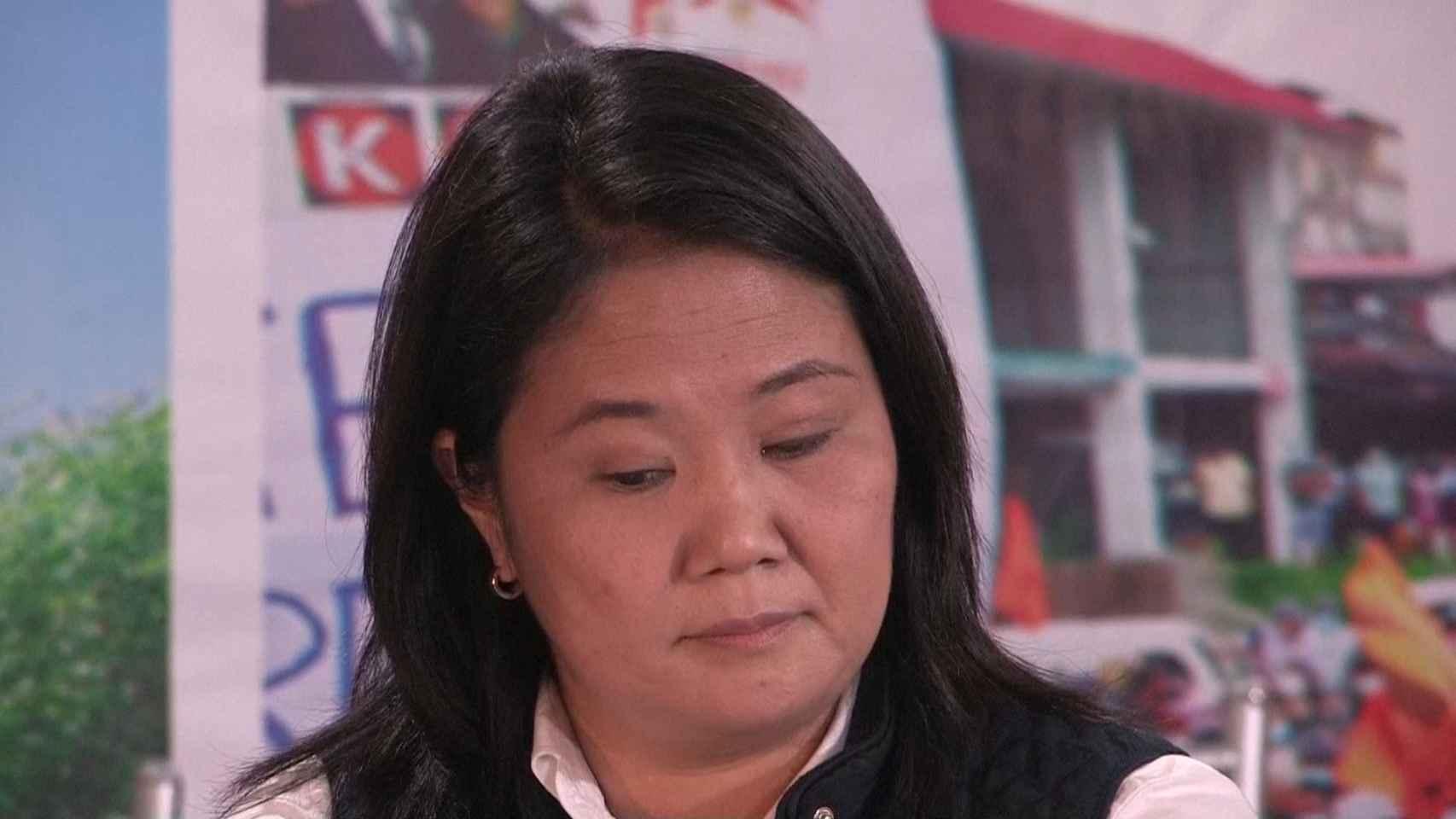 Keiko Fujimori denuncia fraude en las elecciones de Perú