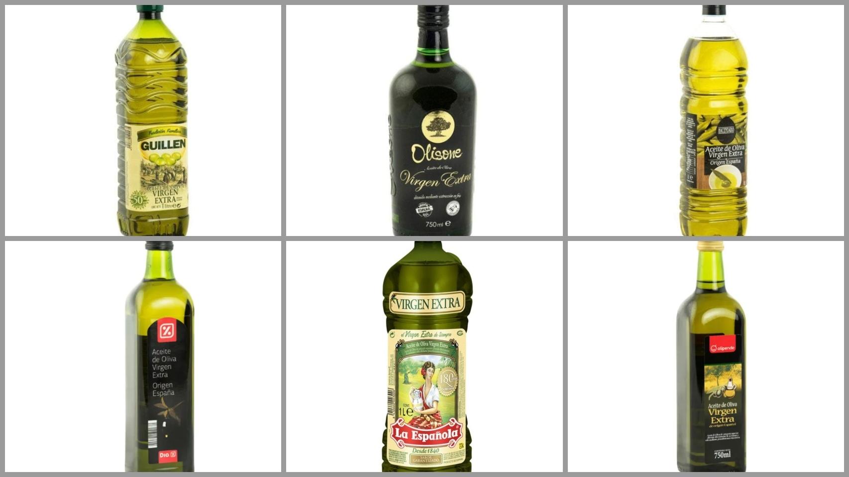 Los 12 peores aceites de oliva