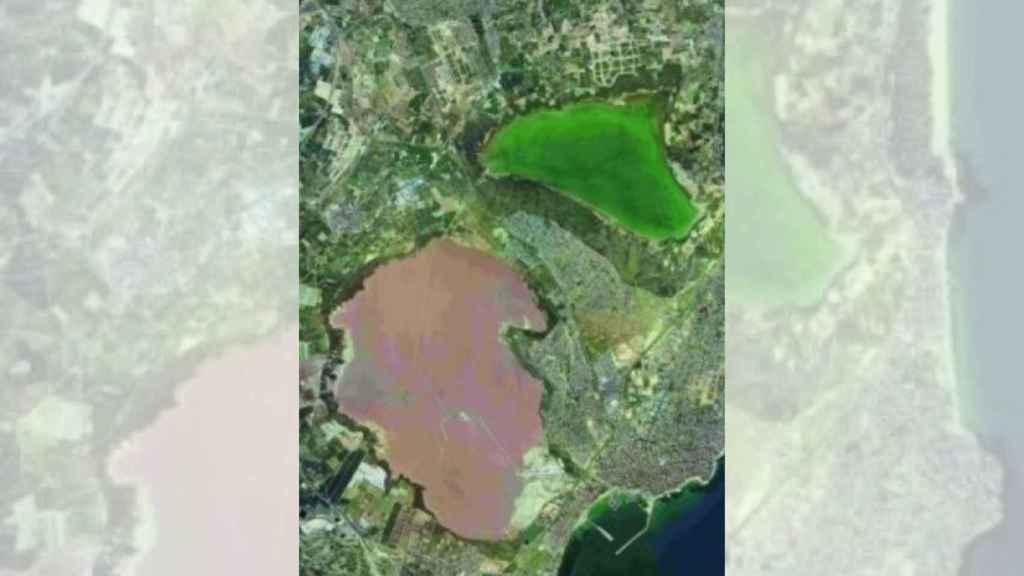 El Parque Natural de La Mata y Torrevieja tiene dos particulares lagunas.