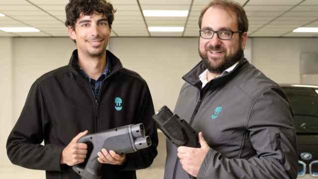 Los cofundadores de Wallbox, Eduard Castañeda (CPO) y Enric Asunción (CEO).