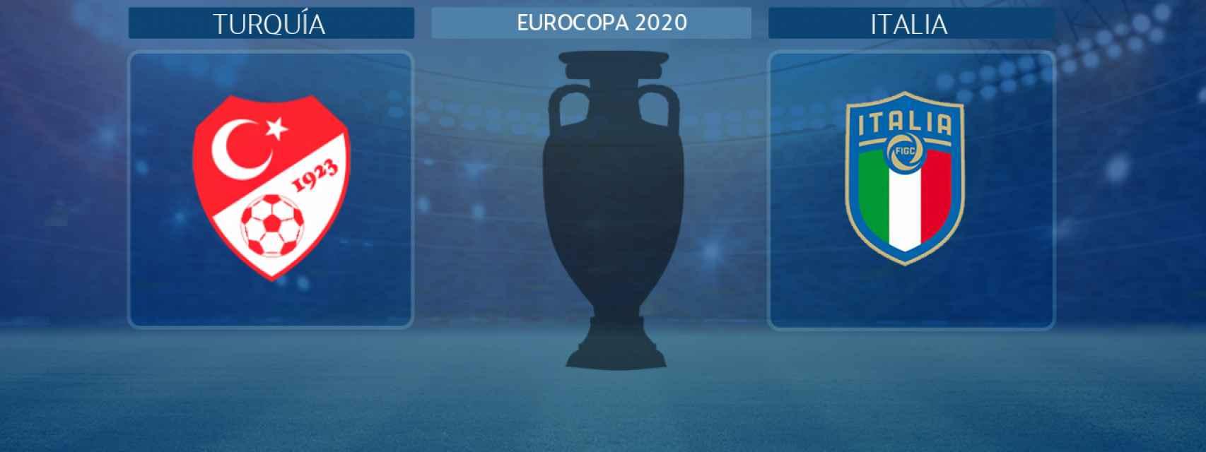 Turquía - Italia, partido inaugural de la Eurocopa 2020