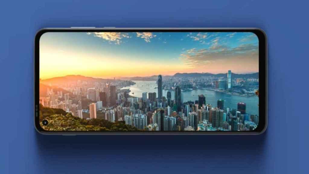 Moto G Stylus 5G pantalla