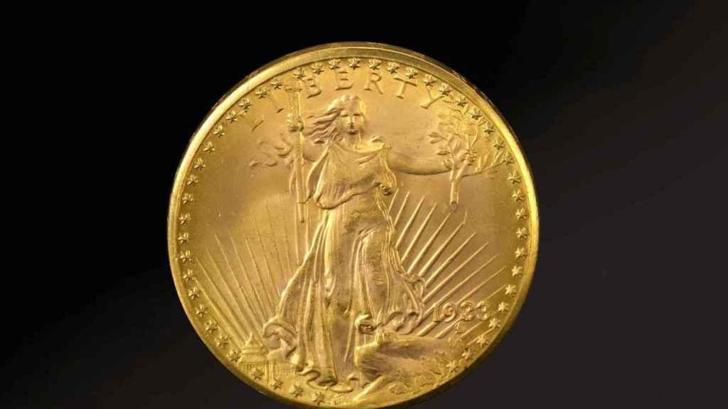 La moneda más cara del mundo, subasta este martes.