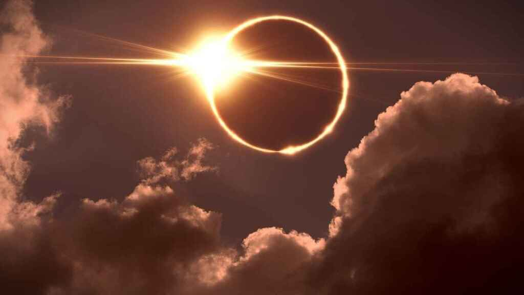 Un eclipse solar.