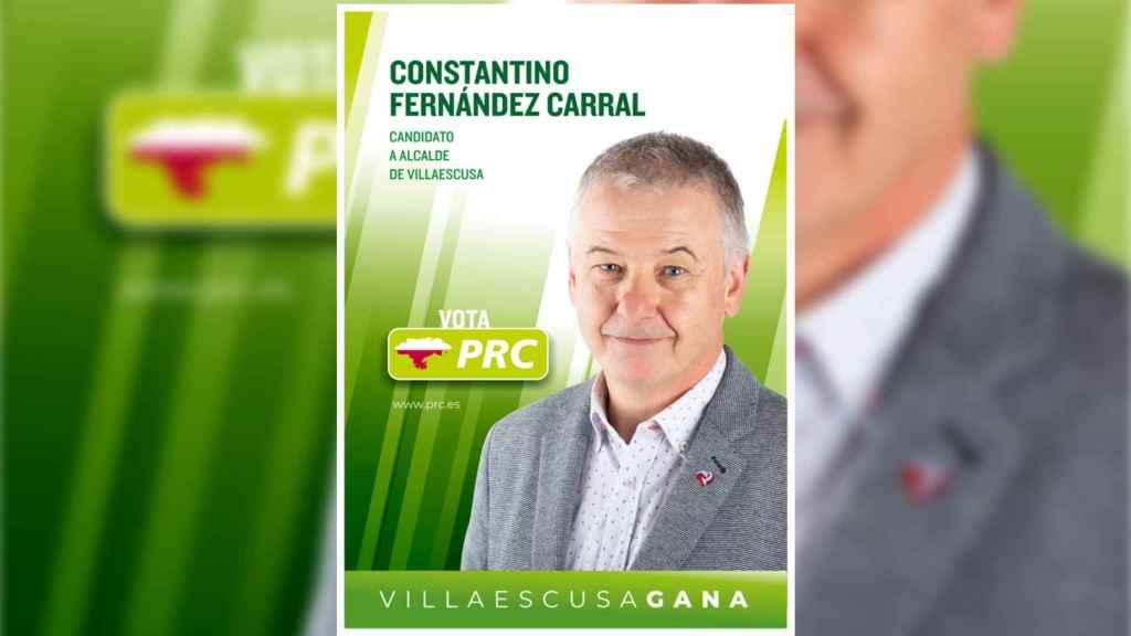 Cartel electoral de 'Tanti' en las pasadas elecciones.