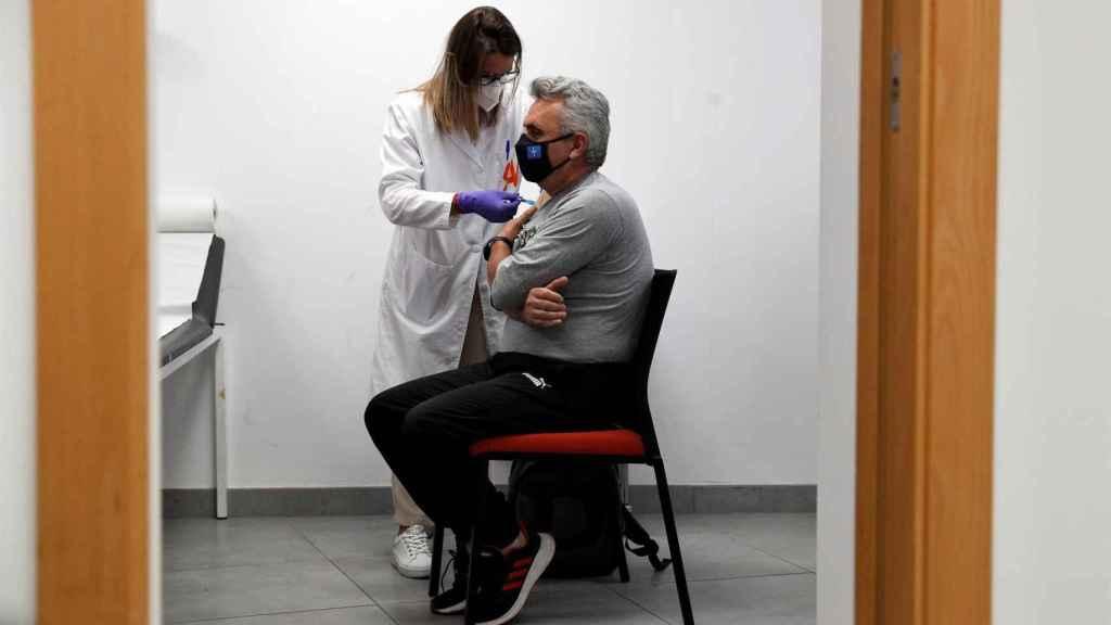 Vacunación en la Comunidad Valenciana.