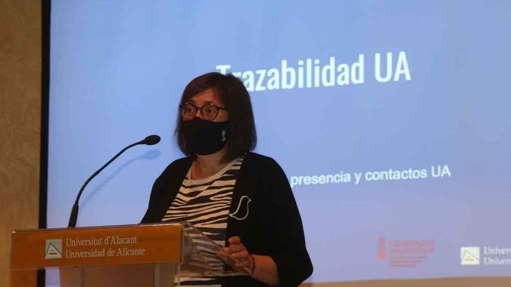 """La directora general de Innovación, Sonia Tirado, ha apuntado la """"importancia de la colaboración entre la Generalitat y las universidades."""