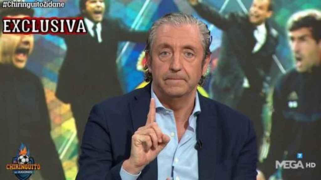 Josep Pedrerol ha abandonado el plató de 'El chiringuito' sin dar explicaciones.